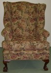 Floral Tapestry WingChair