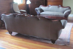 Antique Sofa Pair, Complete Restoration