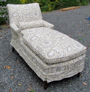 Chaise Lounge Slipcover